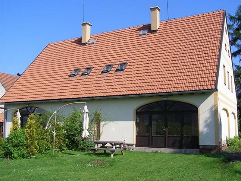 Vakantiehuis De  RoosB in rustiek Vernerovice in Tsjechie, holiday rental in Broumov