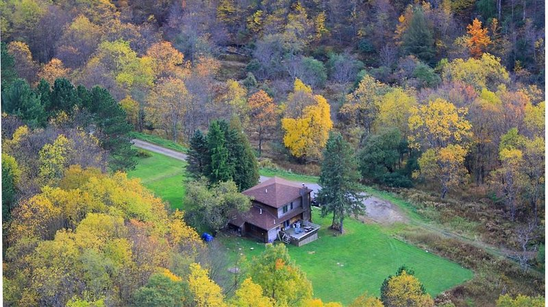 Westwood-Very Private - Blackwater Canyon Trail- 1 mile from Thomas, holiday rental in Eglon