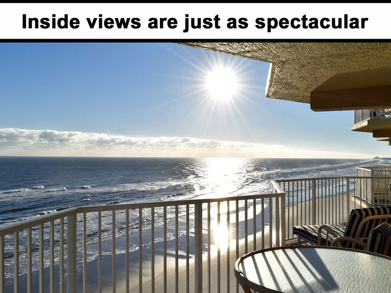SPECIAL -100% REMODELED Ocean Front Luxury Condo, NO DRIVE BEACH, 3BR/3BA, holiday rental in Daytona Beach Shores