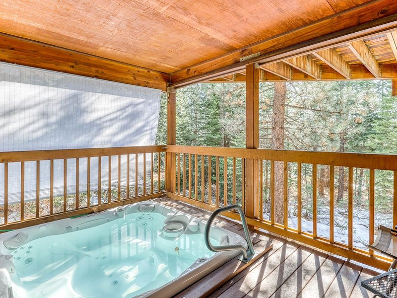Spacious family getaway w/ a private hot tub - close to the lake & town!, vacation rental in Kings Beach