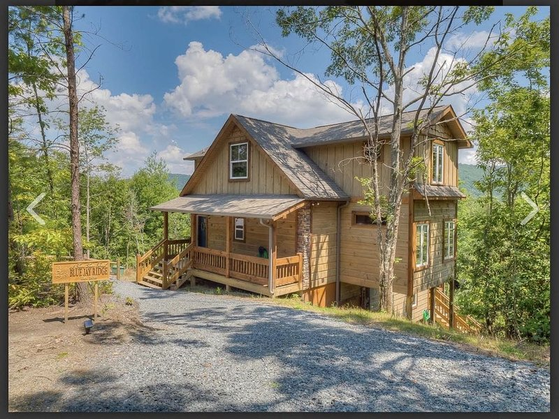 NEW Craftsman Home with Year Round Mountain Views, location de vacances à Blue Ridge