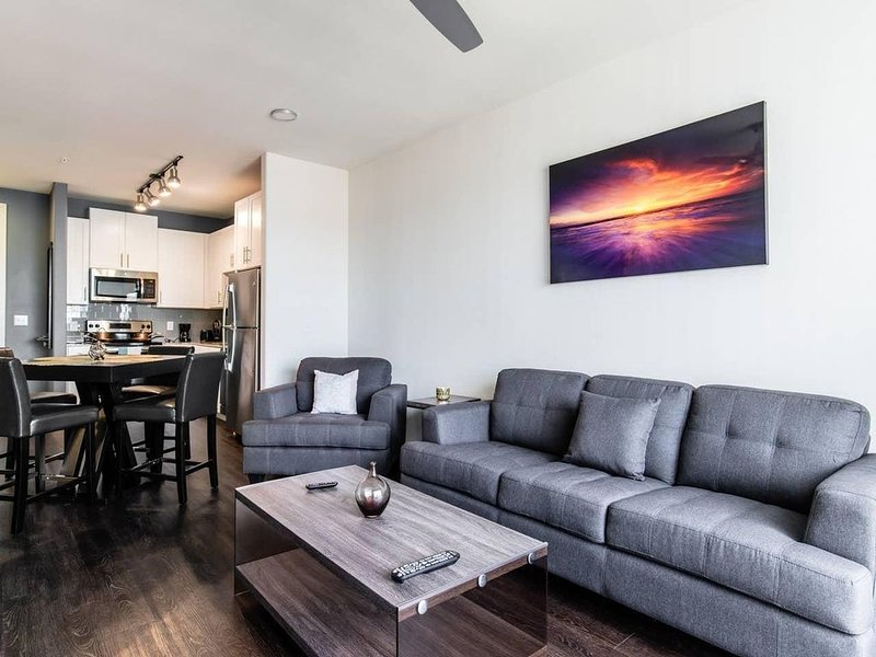 Legacy West|Corporate|1Bed|Courtyard View, alquiler vacacional en Plano