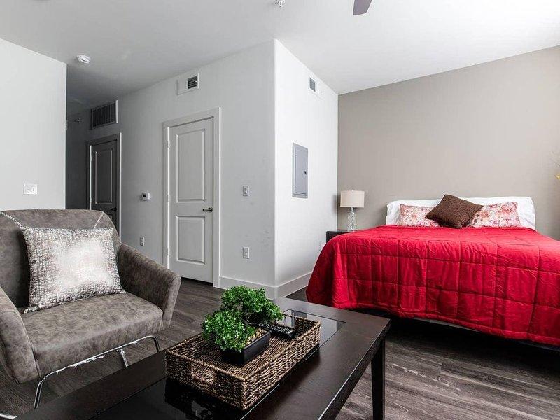Legacy West|Corporate|Studio|Courtyard View, alquiler vacacional en Plano