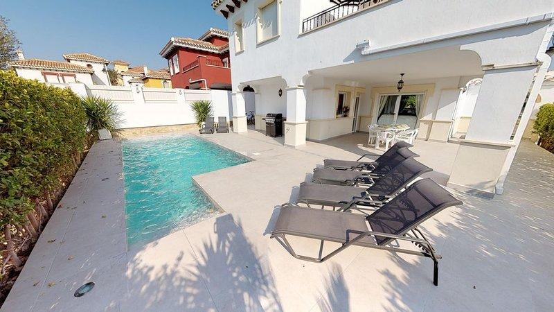 Villa Cerezo - A Murcia Holiday Rentals Property, aluguéis de temporada em Torre-Pacheco