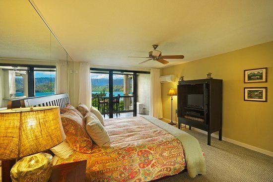 Hotel Room with Amazing View of Hanalei Bay  Hotel Room with Amazing View of Han, vacation rental in Wainiha
