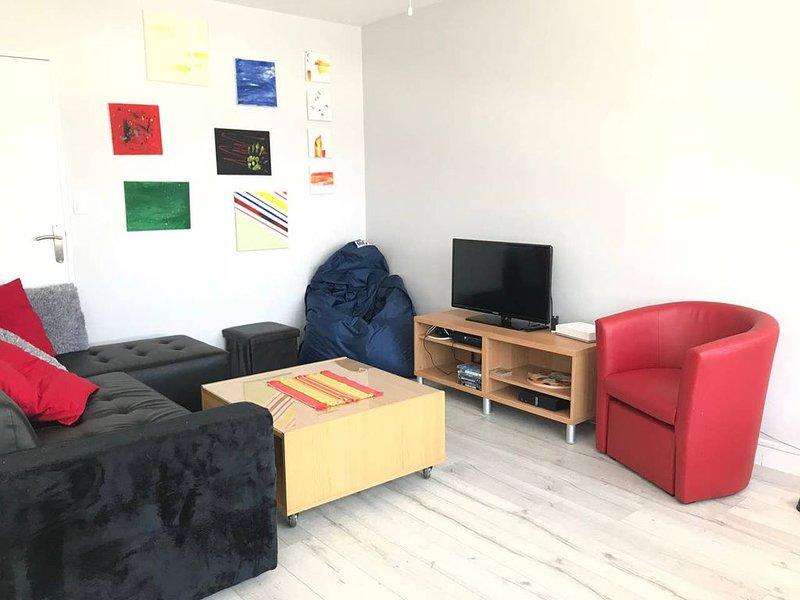 Appartement lumineux à 5 minutes de la plage, vacation rental in Le Havre