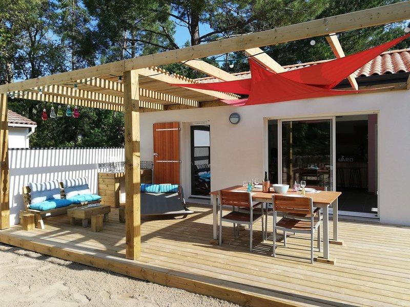 Villa Hélios bord de mer, holiday rental in Jard-sur-Mer