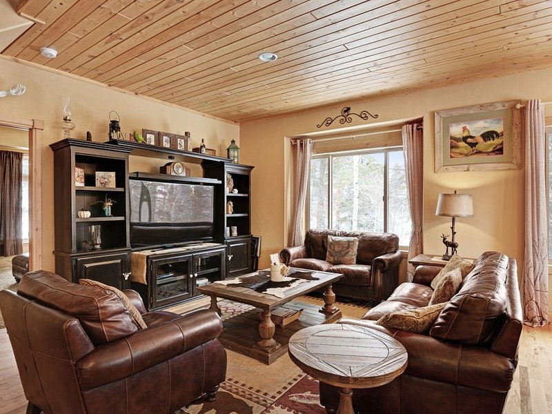 Cozy family house in the heart of the Pikes Peak region, holiday rental in Lake George