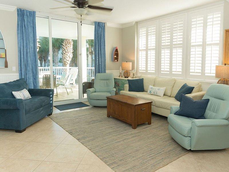 Heron L09-Stunning Corner Lanai Level  else needs to be said!!, holiday rental in Fort Walton Beach
