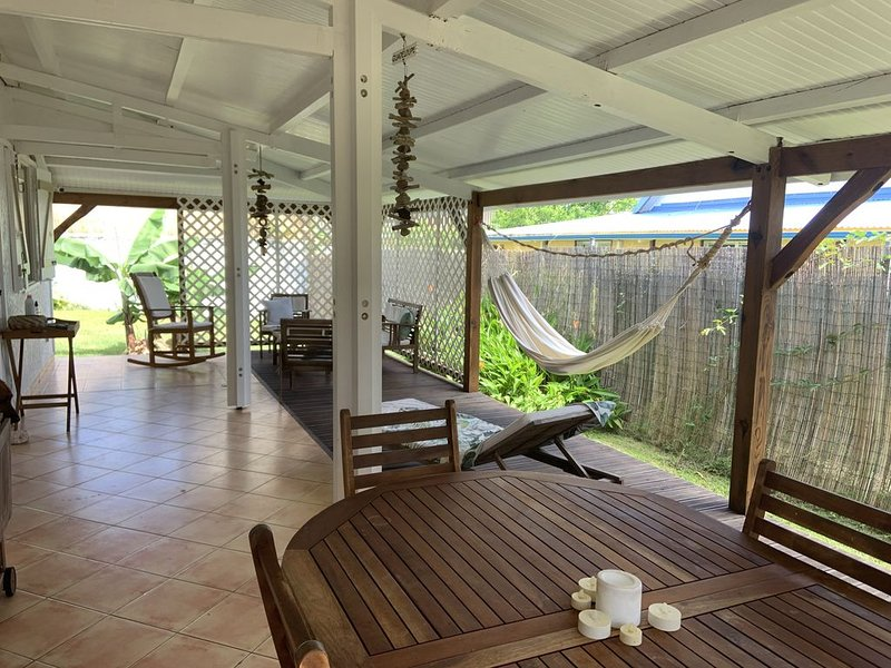 Maison tout confort au pied des plus belles randonnées, location de vacances à Capesterre-Belle-Eau