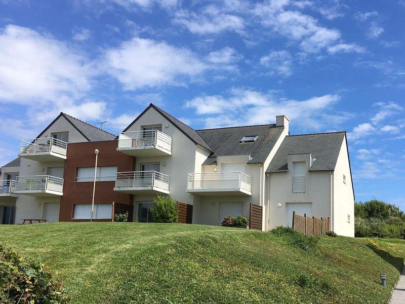 Appartement duplex pour 5 personnes vue mer, alquiler de vacaciones en Camaret-sur-Mer