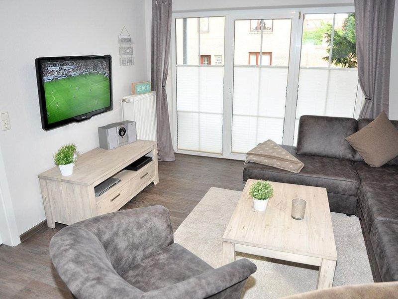 Moderne Erdgeschosswohnung in strandnaher Lage, holiday rental in Laboe