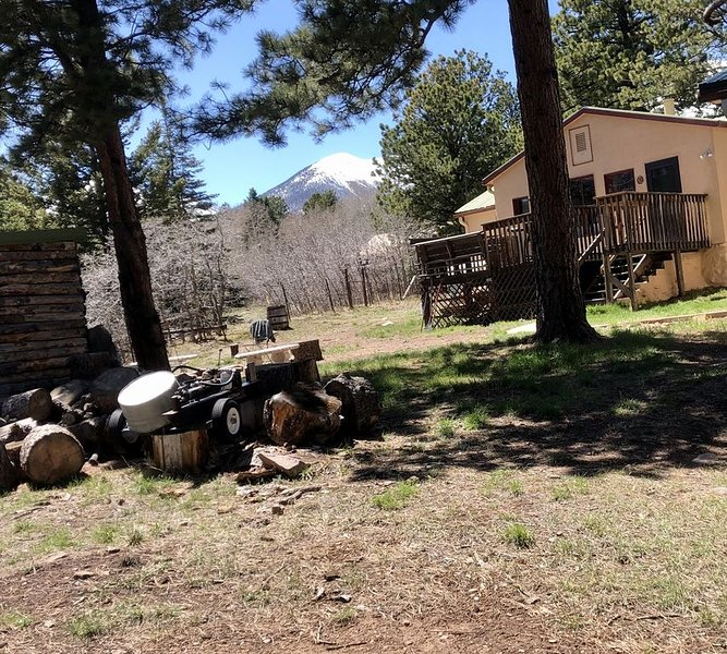 Very Comfortable Peaceful Cabin in the Foothills of the Sangre'near Westcliffe!, holiday rental in Silver Cliff