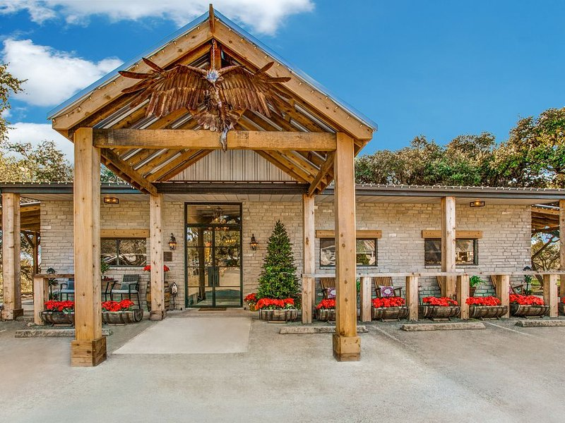 Romance Point at Eagles Landing Lodge Bulverde, TX San Antonio Hill Country, casa vacanza a Bulverde