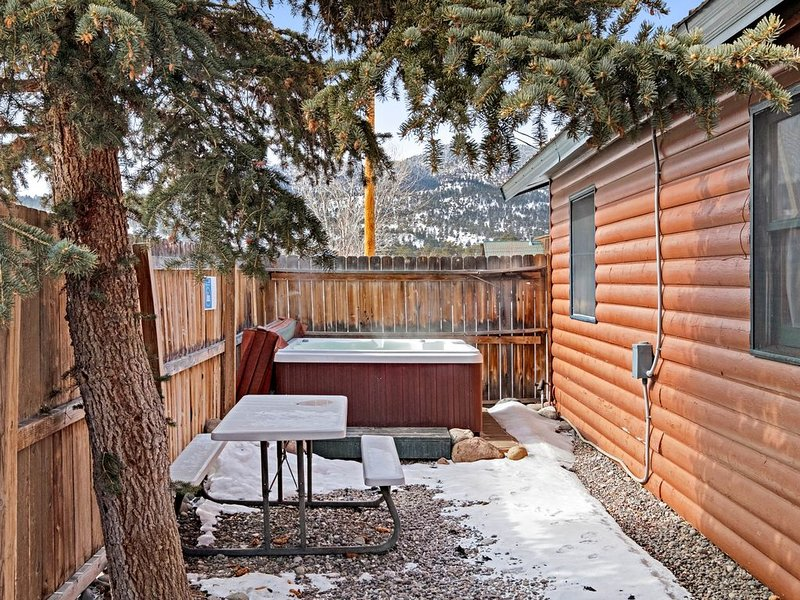 Dog-friendly cabin w/ private yard & fireplace -  ideal for hiking & skiing, vacation rental in South Fork