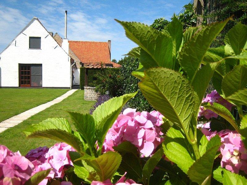 Beautiful Farmhouse in Beveren-aan-den-IJzer with Terrace, holiday rental in Westvleteren