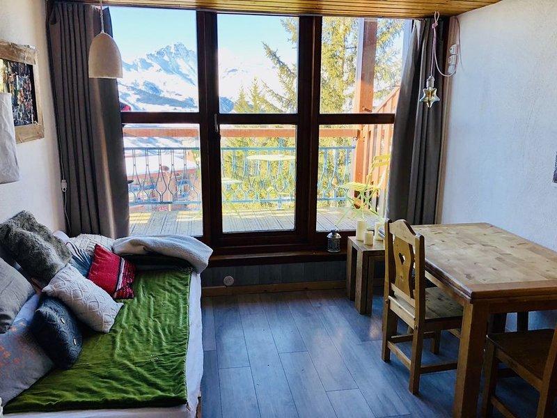 Arcs 1800- DUPLEX renovated 6 pers - 2 bedrooms, holiday rental in Les Arcs