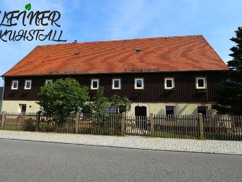 Ferienwohnung Kleiner Kuhstall, holiday rental in Bad Schandau
