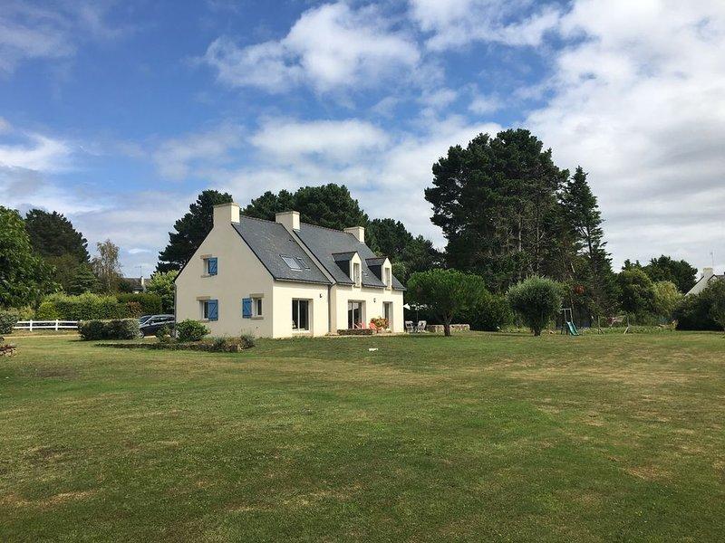 Maison avec grand jardin au calme. Plages à proximité. Proche la Trinité-sur-Mer, aluguéis de temporada em Saint-Philibert