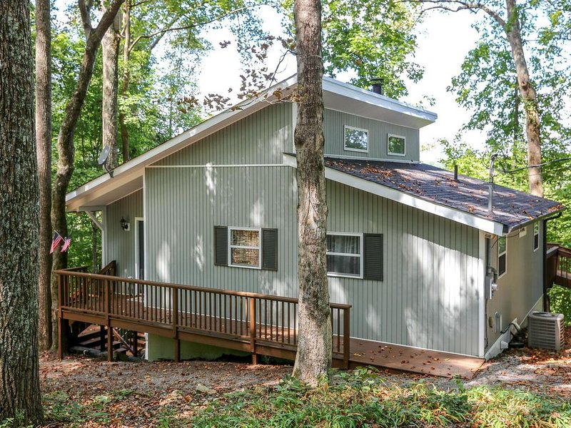 Fantastic cabin nestled in the woods, holiday rental in Silver Point