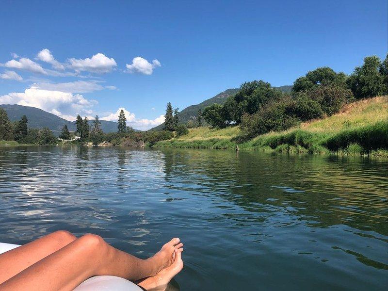 Floden på mitten av sommaren (4,5 timmar till Enderby från Miska Haven)