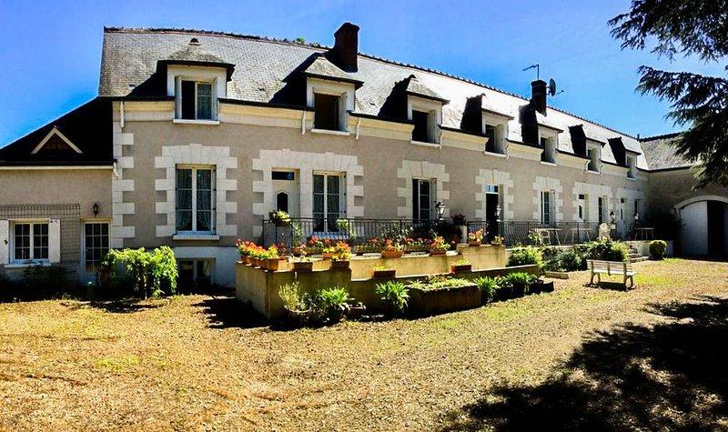 T3 à 1klm du Château de Chenonceau, alquiler vacacional en La Croix-en-Touraine