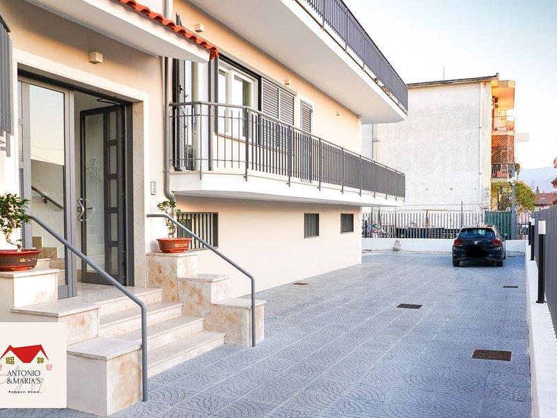 Nuova ed elegante casa vacanza in Pompei centro, alquiler de vacaciones en Torre Annunziata