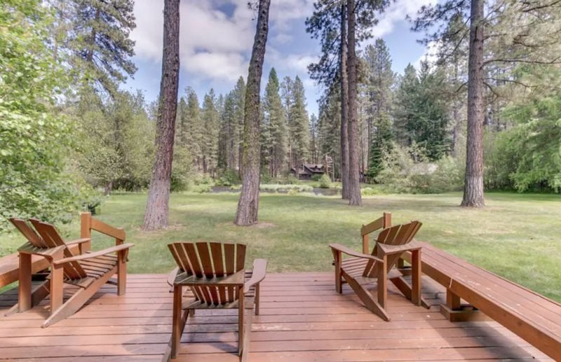 Metolius River Resort Cabin 7 The Ultimate Metolius Experience - Luxurious cabin, location de vacances à Camp Sherman