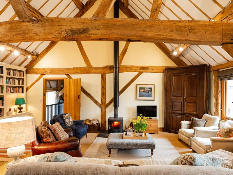 Country property In Rural Herefordshire / Powys border near Hay on Wye, holiday rental in Madley