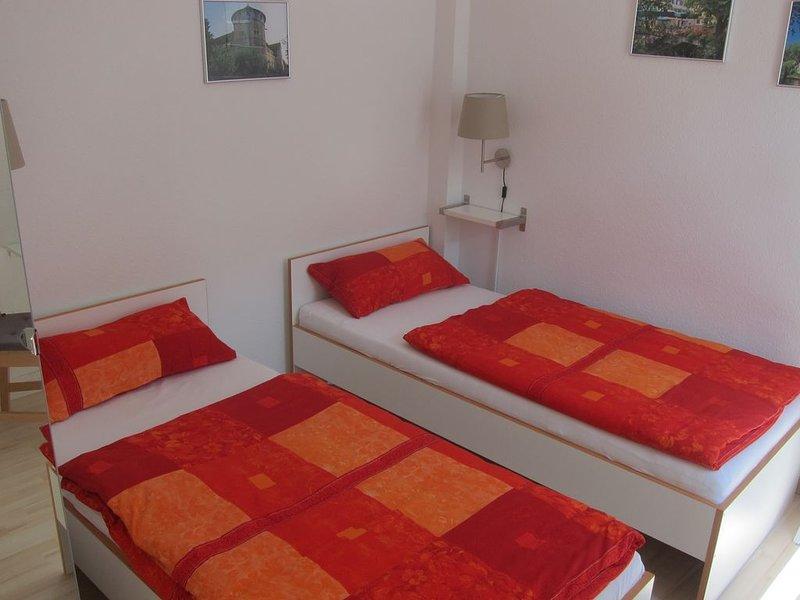 Studio-Apartment 'Am Nonnenhaus', Altstadt, Uni-Nähe bis 2 Personen, inkl. WLAN, aluguéis de temporada em Leinfelden-Echterdingen