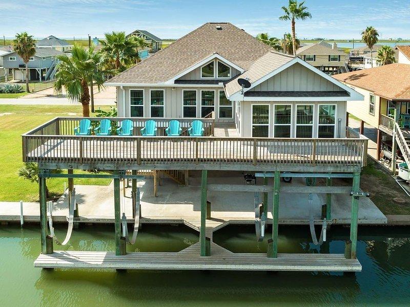 Campo Del Mar on the Bay Canal, alquiler de vacaciones en Freeport