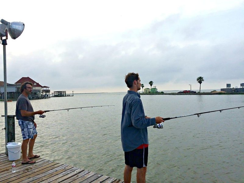 Grannskapsfiskebrygga