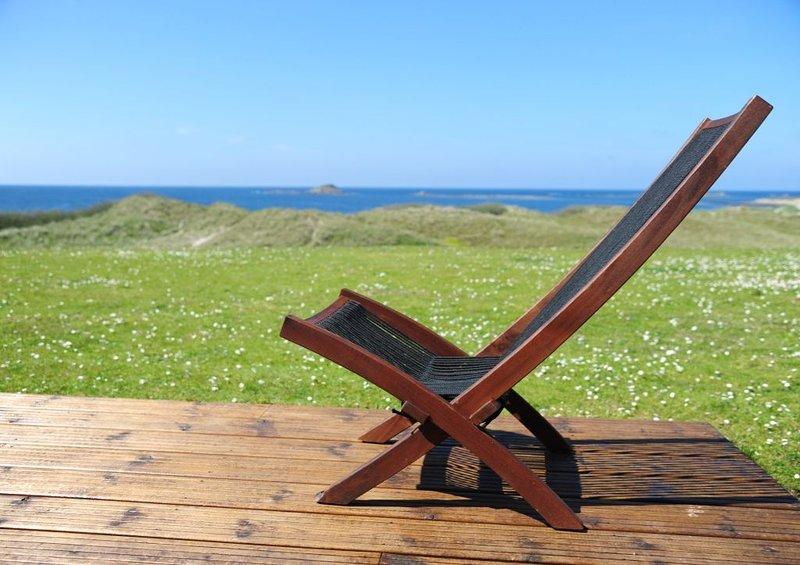 Villa face à la mer sur site exceptionnel., Logement 632073, holiday rental in Ploudalmezeau