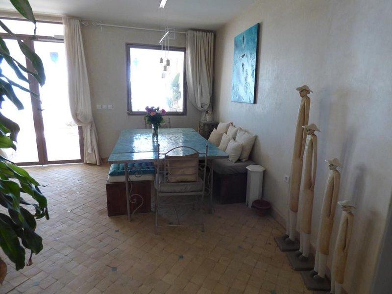 Magnifique appartement vue sur océan à AGHROUD, Ferienwohnung in Imi Ouaddar