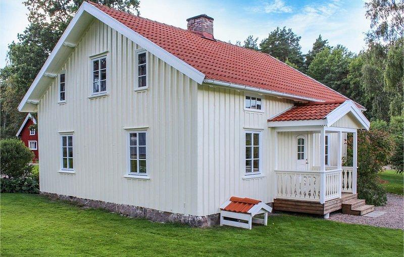 2 Zimmer Unterkunft in Nossebro, holiday rental in Alingsas