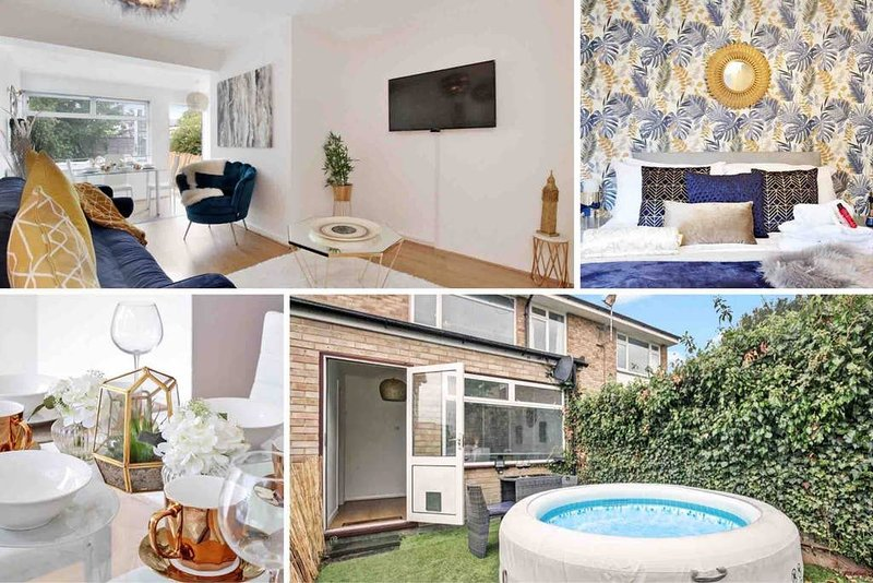 � The Gem House Canterbury - 4 Mins to City Centre, holiday rental in Wickhambreaux