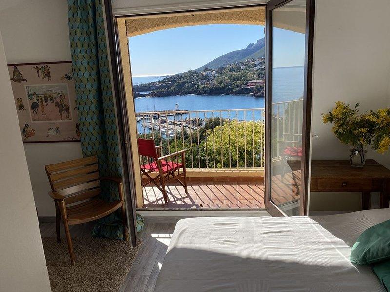 NOUVEAU :Appartement de rêve avec 2  terrasses ensoleillées pleine vue mer., casa vacanza a Théoule sur Mer