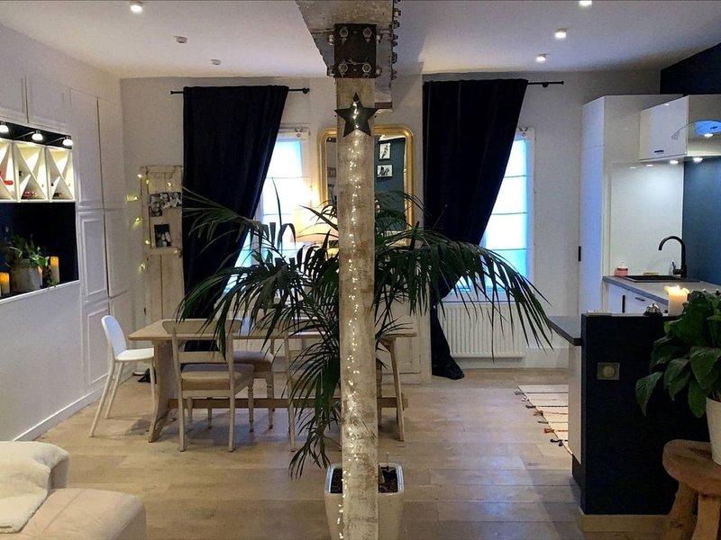 Duplex plein cœur de Montfort-l'Amaury, holiday rental in Septeuil