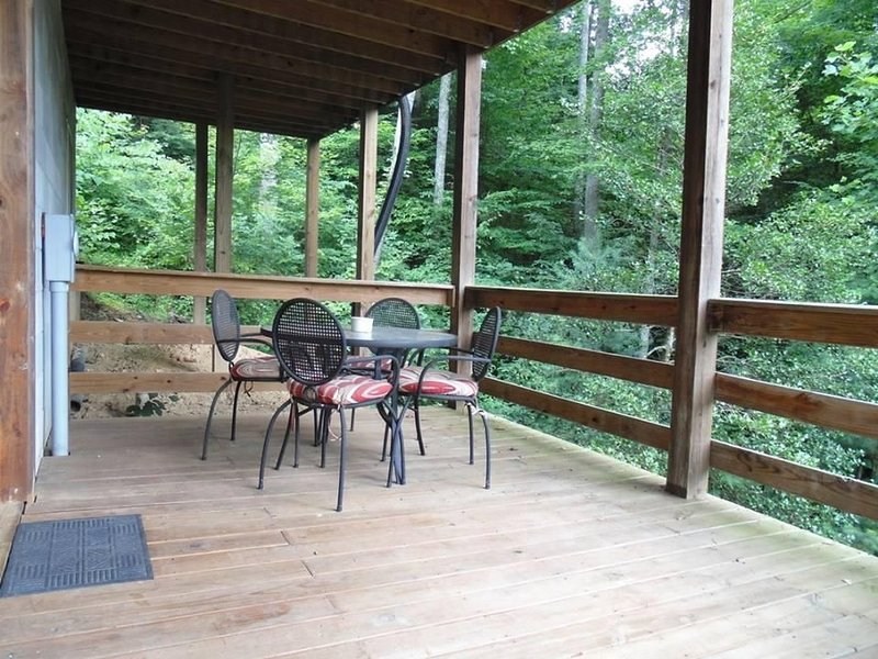 Bottom Deck at The Roost