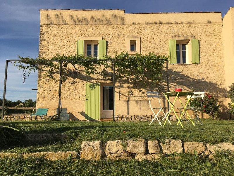 La Remise - Gites les Moulières - Location de vacances - Lubéron, Provence, holiday rental in Cruis