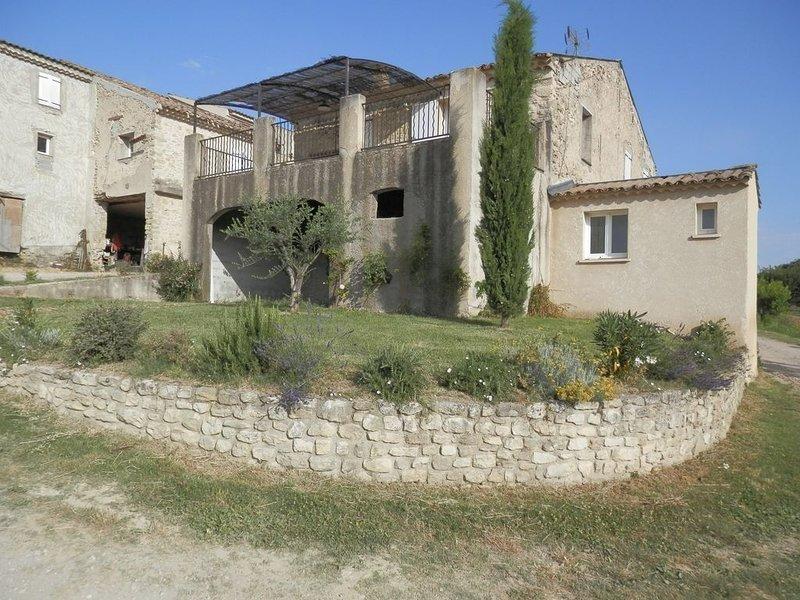 La Grange - Gites les Moulières - Location de vacances - Lubéron, Provence, holiday rental in Cruis