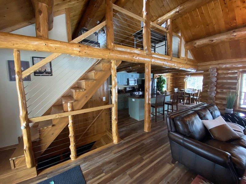 Log Cabin on Caribou Lake, holiday rental in Deer River