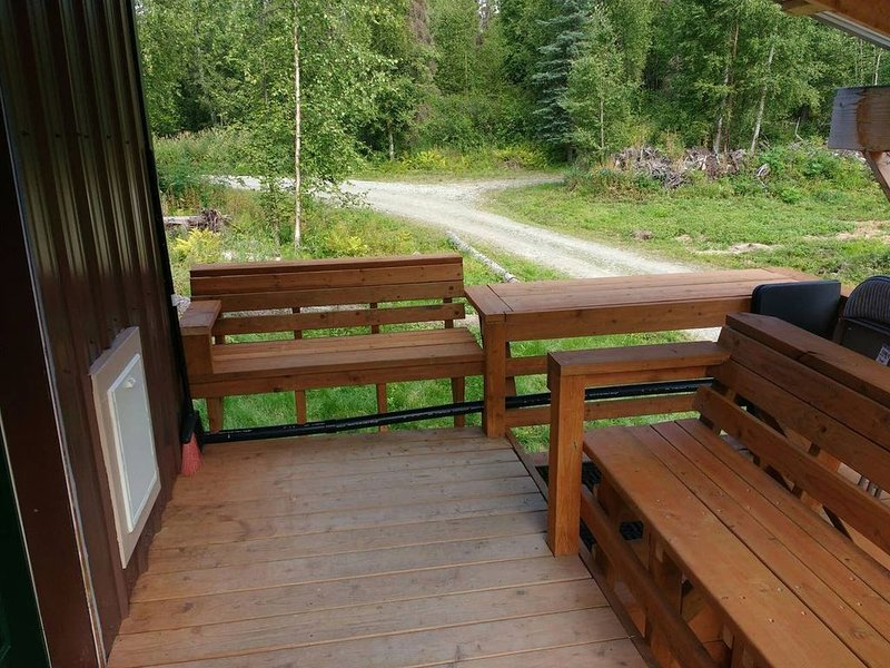 A real Alaskan offgrid cabin experience, vacation rental in Talkeetna