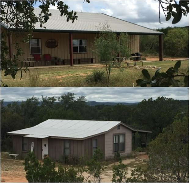 Private refuge on the Llano River to fly fish, swim, relax, and enjoy creation, holiday rental in Segovia