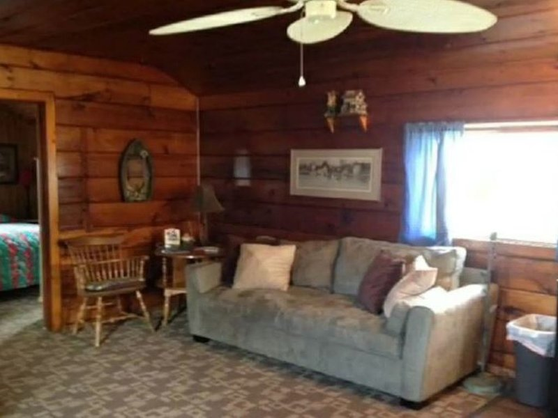 Sweeping Lakeside Cabin, location de vacances à Bayview