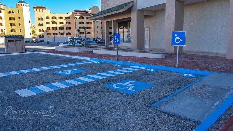 Handicap Safe Area