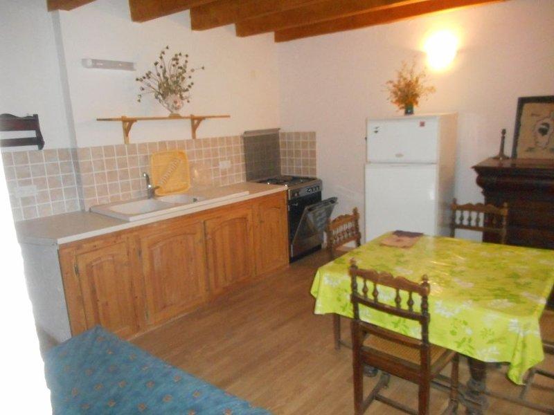 Grange rénovée en appartement, alquiler vacacional en Saint-Julien-du-Verdon