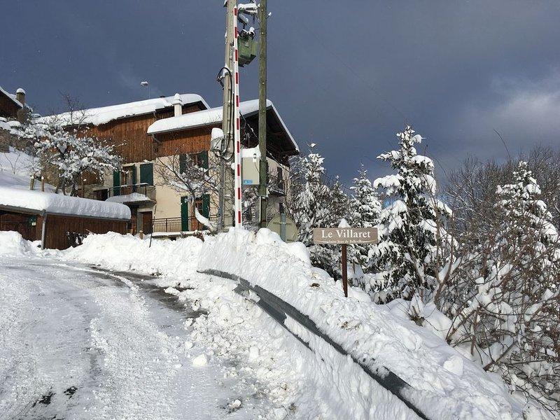 Chalet Vallée des Belleville en Savoie 4+2 couchages, holiday rental in Salins-Fontaine