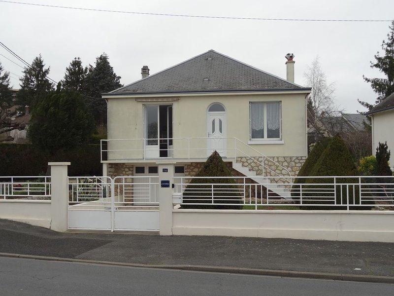 Maison de vacances / 4 personnes entre zoo de Beauval et Chateaux, location de vacances à Saint-Julien-de-Chedon