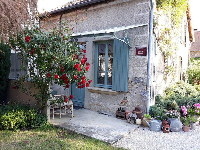 Gîte de charme 4 pers au coeur de la bourgogne, holiday rental in Saint-Berain-sur-Dheune
